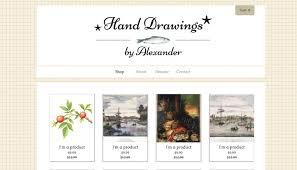 Artist Website Templates Impressive 28 Beautiful Portfolio Website Templates For Artists