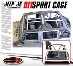 poly performance diy sport cage for jeep wrangler jk