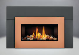 gas fireplace rocks napoleon direct vent gas fireplace insert with glass door painted black direct vent