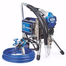 picture of graco ultra 395 pc airless paint sprayer stand