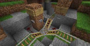 compact way intersection using powered rail minecraft compact 3 way intersection using powered rail