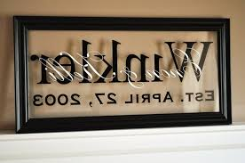 fun personalized last name wall art room decorating ideas 15 photos new orleans