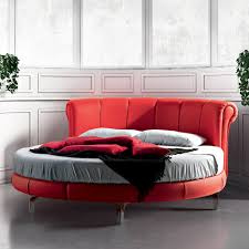 modern round bed diameter 220 cm Rondo, made in Italy
