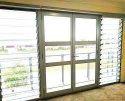 aluminium louvre windows view