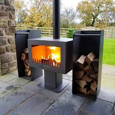 Outdoor Wood Stove Designs Pipe Portable Stove Brick Fireplace Fire Firebox Bur
