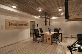 Industrial Office Design Stunning The Essence Of A Coffee Shop Captured In An IT Office [espresoh