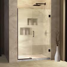 shower design dazzling modern frameless pivot shower door inch popular design latest stair image of tub and doors neo angle enclosure glass bathtub