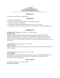 Quality Assurance Resume Objective Sample Resume Objective Examples Quality Assurance Best Personal Trainer 18