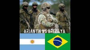 ARJANTİN vs BREZİLYA askeri güc karşılaştırma - YouTube