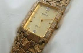 elgin wristwatches for men yaytrend vintage elgin diamond quartz men s dress wrist watch movement