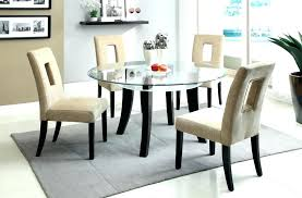 full size of clio modern round glass kitchen table set dining sets toronto room delectable and