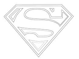 Superhero Logos Coloring Pages - Laura Williams