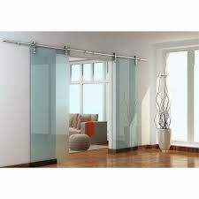 modern glass barn door. (USA Free Shipping ) 8ft / 10ft /12ft /13.2ft Double Modern European Glass Barn Door