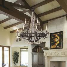 12 light crystal chandelier reviews birch lane pertaining to incredible residence 12 light crystal chandelier decor