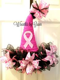 Breast Cancer Awareness Ideas; Breast Cancer Awareness Decorations; Breast  Cancer Awareness Wreath; Save