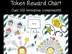 Token Reward System Chart Token Reward Chart Behaviour Management System