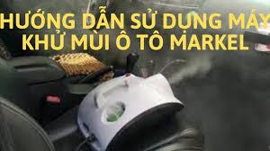 Video] Hướng dẫn sử dụng máy xông khử mùi ô tô Markel - Tặng kèm 5 chai  dung dịch mới nhất 2020