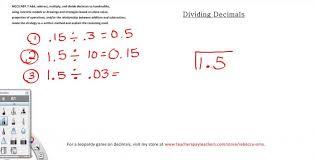 Kindergarten Dividing Decimals 4 Problems 5th Grade Math YouTube ...