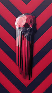 Skull Red Iphone - 900x1600 Wallpaper ...