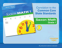 Common Core State Standards Vertical Alignment Charts Math Saxon Math Correlation To The Common Core State Standards