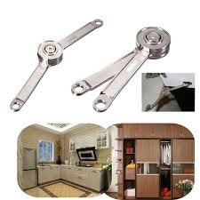Door Stays Kitchen Cupboard Cabinet Support Toy Box Hinge Lift Up