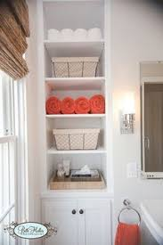 ... Fancy Idea Built In Bathroom Shelves Remarkable Design 25 Brilliant  Wall Storage Ideas For Every Room ...
