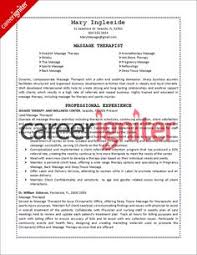 massage therapist resume sample massage therapist resume template