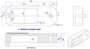 Puzzle Box Design Plans Ball Puzzle Box Bottom Puzzle Part In 2019 Puzzle Box