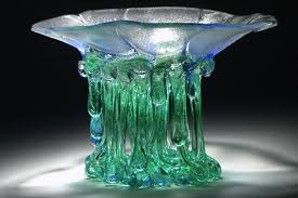 glass form furniture. daniela forti in an italian artist that is presenting the world a new form to have glass furniture