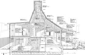 architecture building drawing. Contemporary Drawing AtelierBowWowSection Inside Architecture Building Drawing