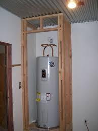 Water Heater Closet Door Home Depot   Home Design Ideas