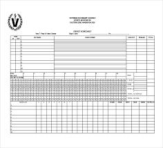 Cricket Score Chart Format 11 Free Download Scoreboard Templates In Microsoft Word