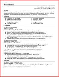 Elegant Advertising Resume Template Personal Leave