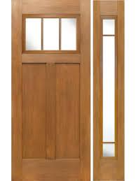 door sidelite fir craftsman top 3 lite single entry door by door exterior pella entry door