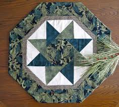 stella table topper pattern twisting star table