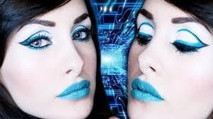 futuristic pin up makeup tutorial you