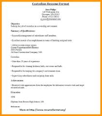 Janitor Resume Duties - Kerrobymodels.info