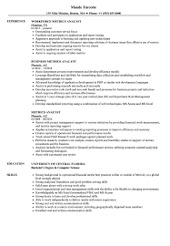 Web Analyst Resume Sample Metrics Analyst Resume Samples Velvet Jobs 26