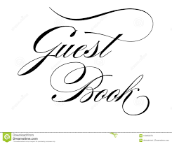 Guest Book Wedding Sign Stock Vector Illustration Of Your 109262276