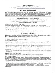 Free Download Full Stack Net Developer Resume Samples Www Mhwaves Com