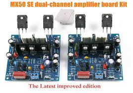 improved mx50 se 100w 100w dual 2 0 channel audio power amplifier diy kits 1 set 1 of 11free see more