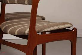 small mid century desk in mid century od 49 teak dining chairs by erik buch for