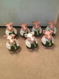 3 X VINTAGE Ceramic NATWEST Pigs by Wade. Piggy Banks / Money Boxes.  Collectable - £9.99 | PicClick UK