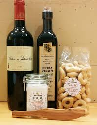 Superior Items For The Elegant Housewarming Gift Basket With Red Wine