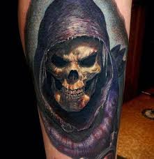 татуировки страшные черепа