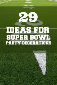 Cheap Super Bowl Decorations Football Party 60 Ideas for Super Bowl Decorations Spaceships 35