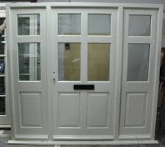 Wooden Front Doors Fitted Uk