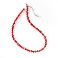 Купить <b>Бусы коралл красный</b> Индонезия (<b>биж</b>. сплав, сталь хир ...