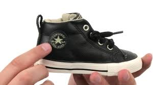 converse for kids. converse kids chuck taylor® all star® street mid leather (infant/toddler) sku:8742685 for