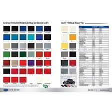 Eastwood Color Chart Ew Branded Color Paint Chart Cost 5 00 Chips Codes